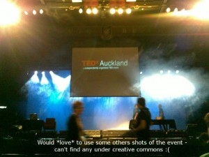 TEDxAkl - The only passable photo I have